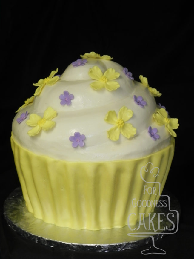 cupcake wedding cake copy – For Goodness Cakes of Charlotte