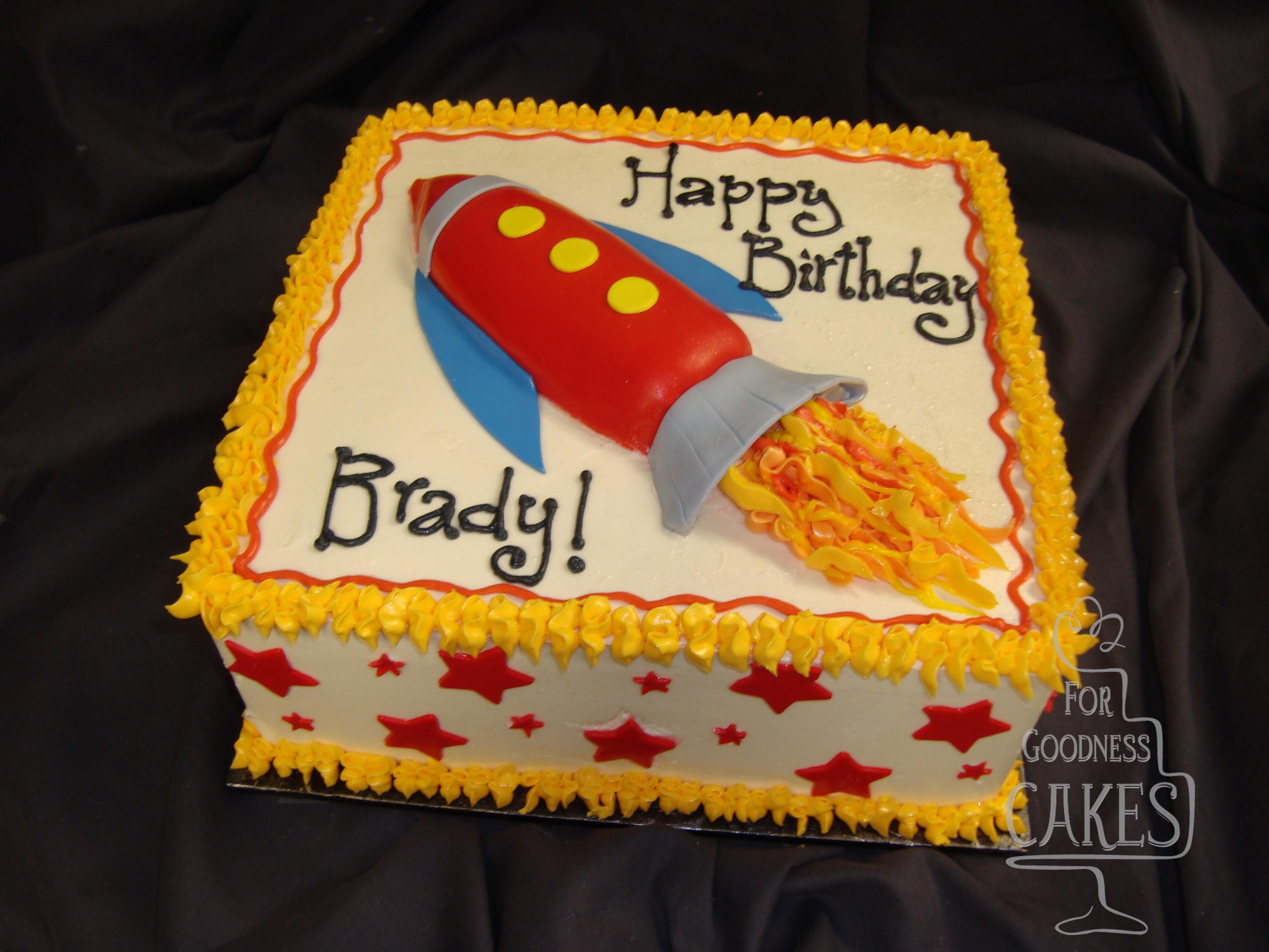 Sensational Rocket Birthday Copy For Goodness Cakes Of Charlotte Funny Birthday Cards Online Hendilapandamsfinfo