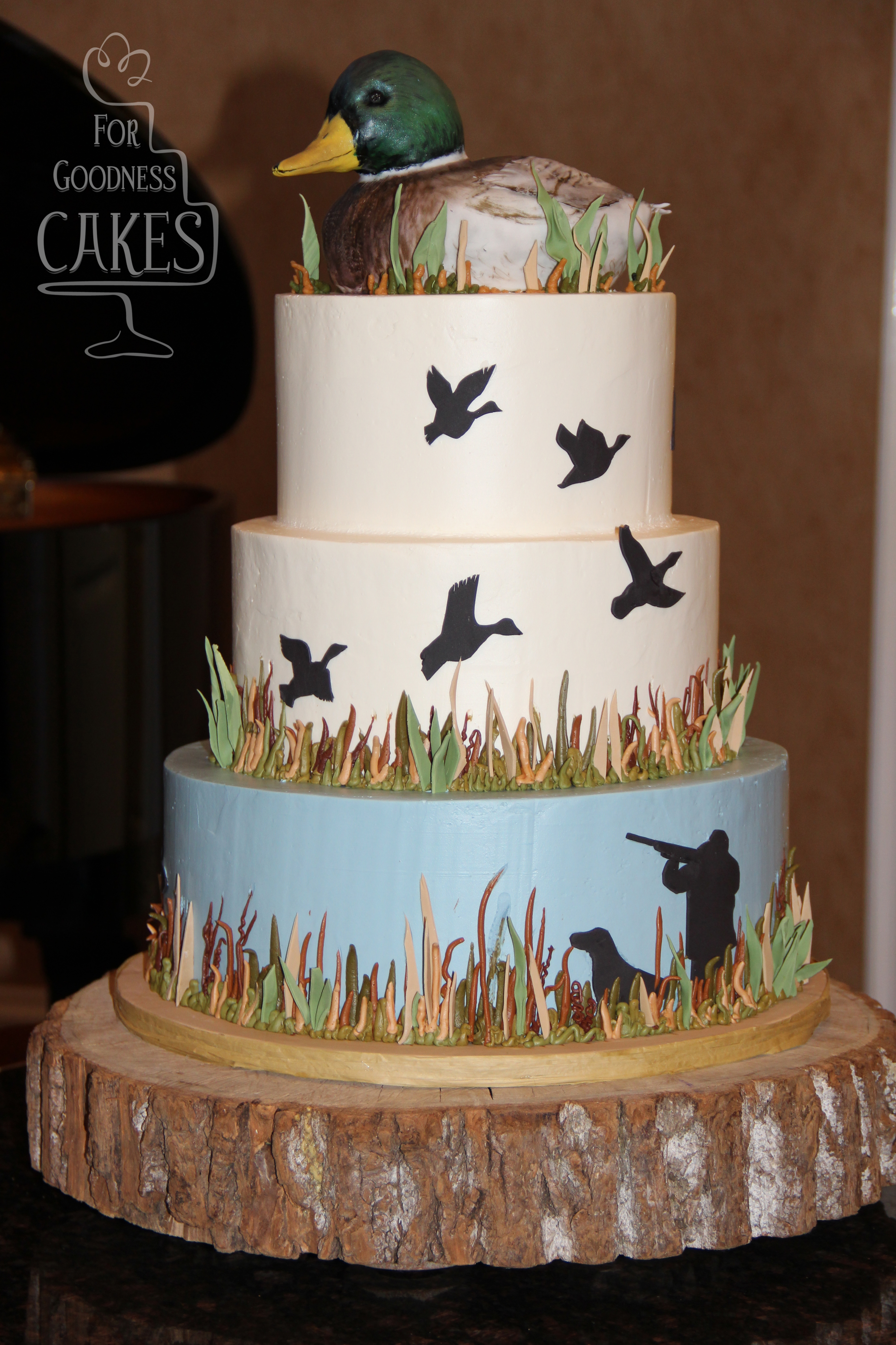 Duck Hunting Cake For Goodness Cakes Of Charlotte