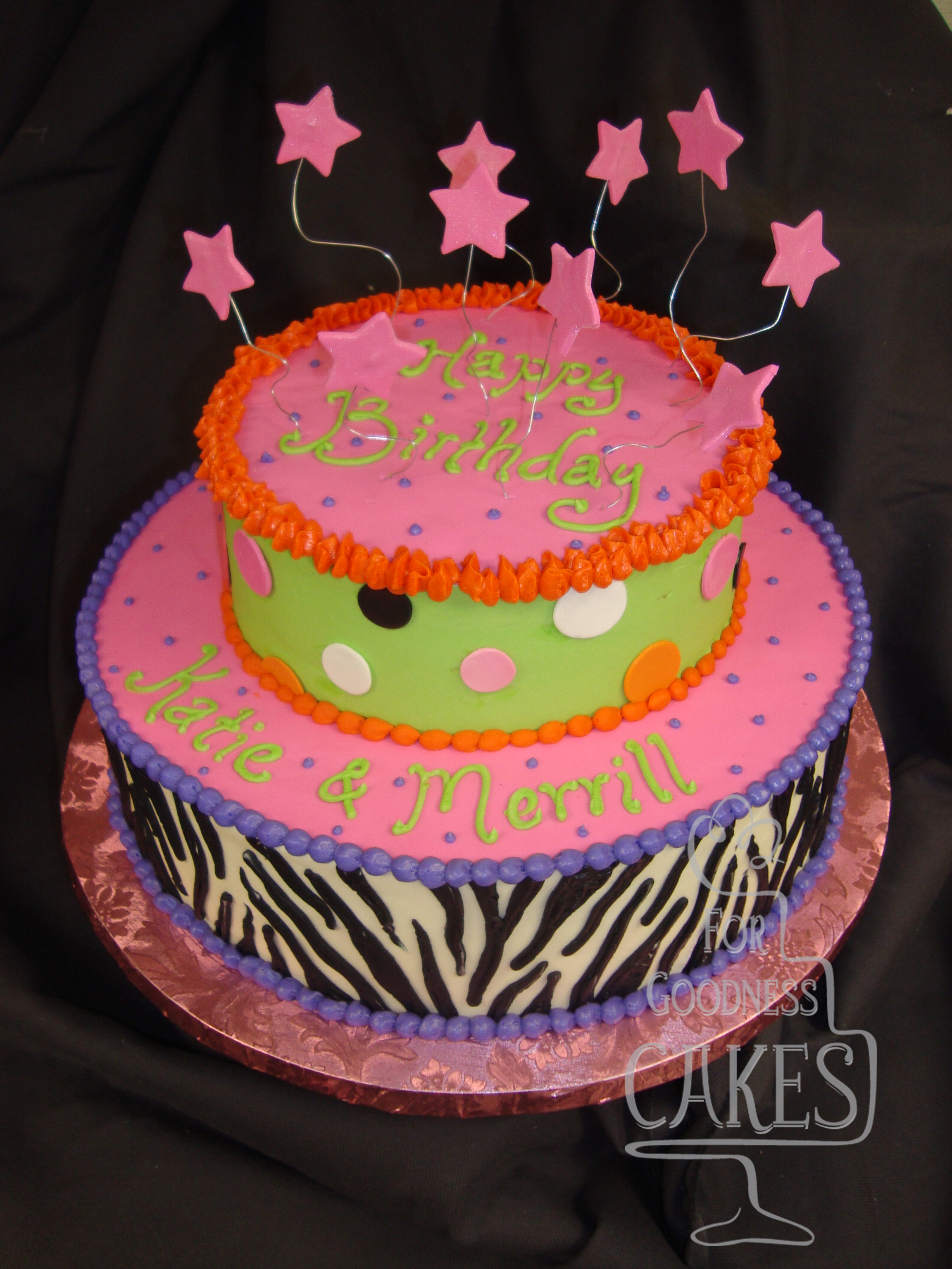 Funky Girl S Birthday Cake Copy For Goodness Cakes Of